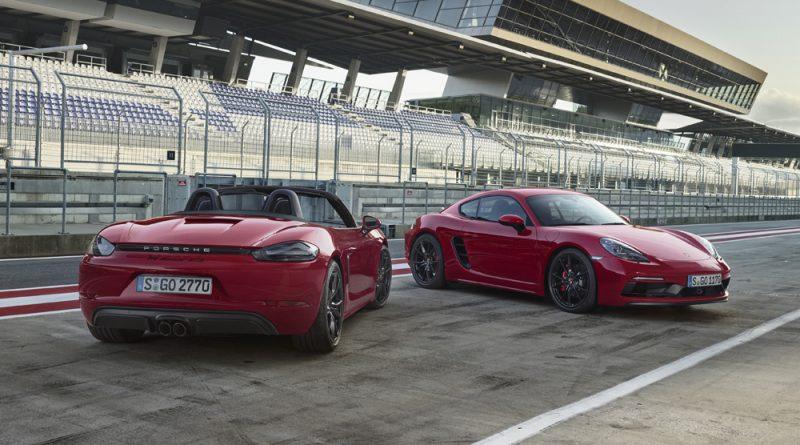 포르쉐, 디자인·성능 업그레이드된 '신형 718 GTS' 2종 공개
