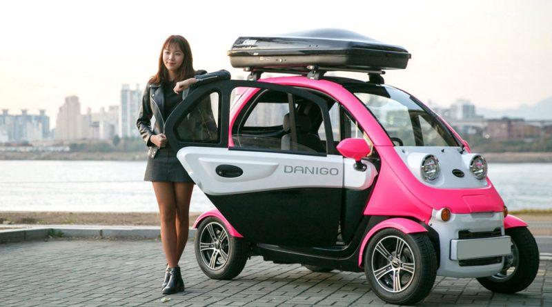 티몬, 초소형 전기차 '다니고' 오는 12월 온라인 단독 판매 실시